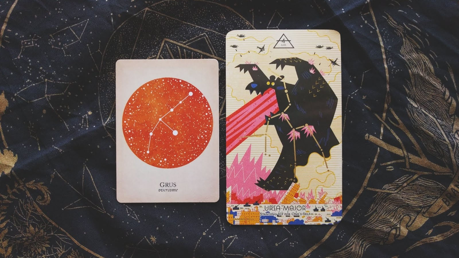 DECKS:  Compendium of Constellations and Cosmos Tarot + Oracle