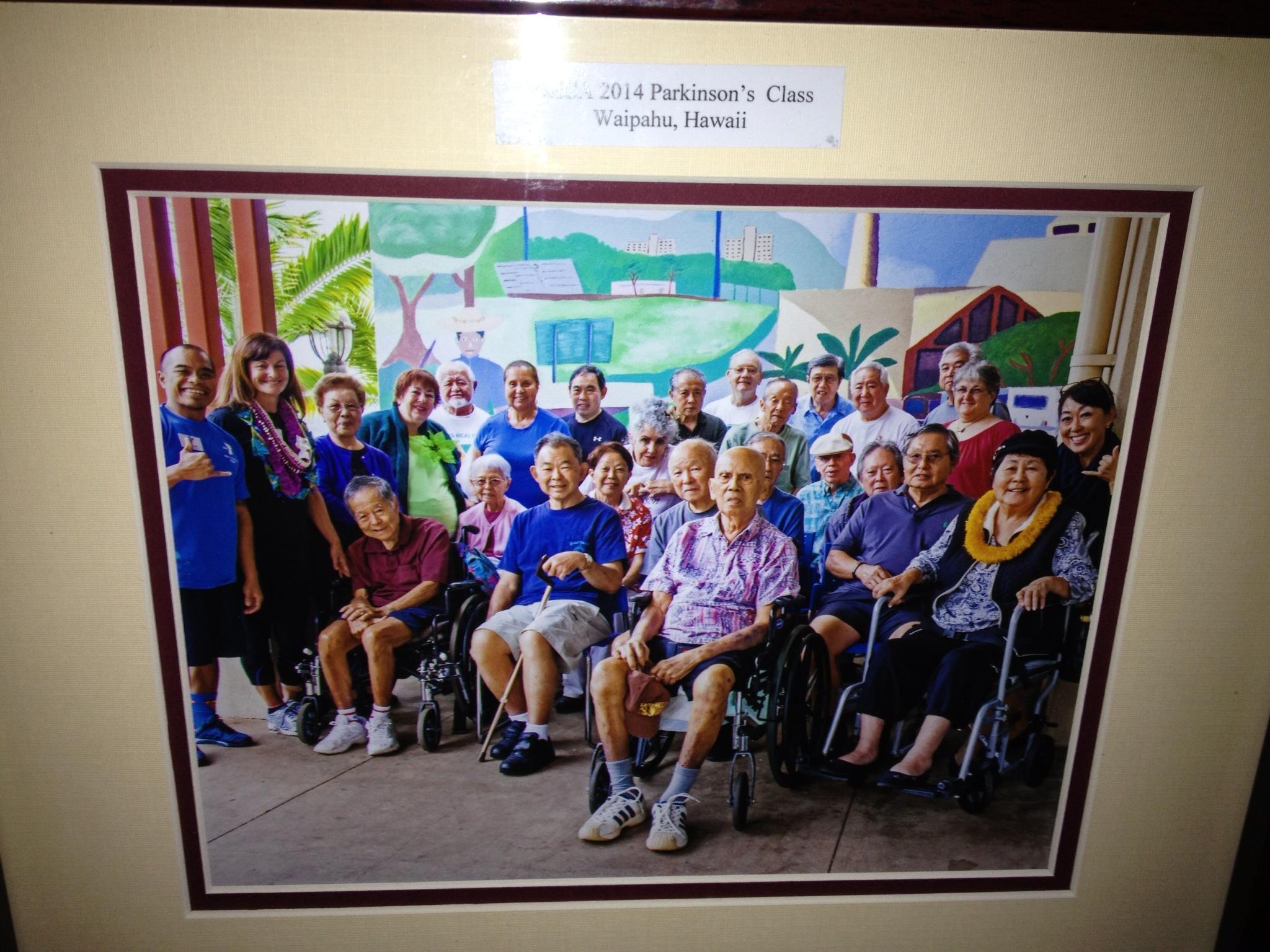 Parkinson's Class Waipahu, Hawaii