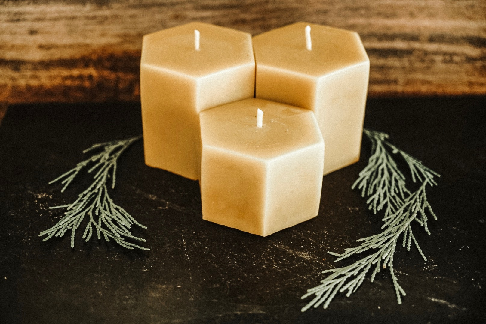 How long do beeswax candles burn