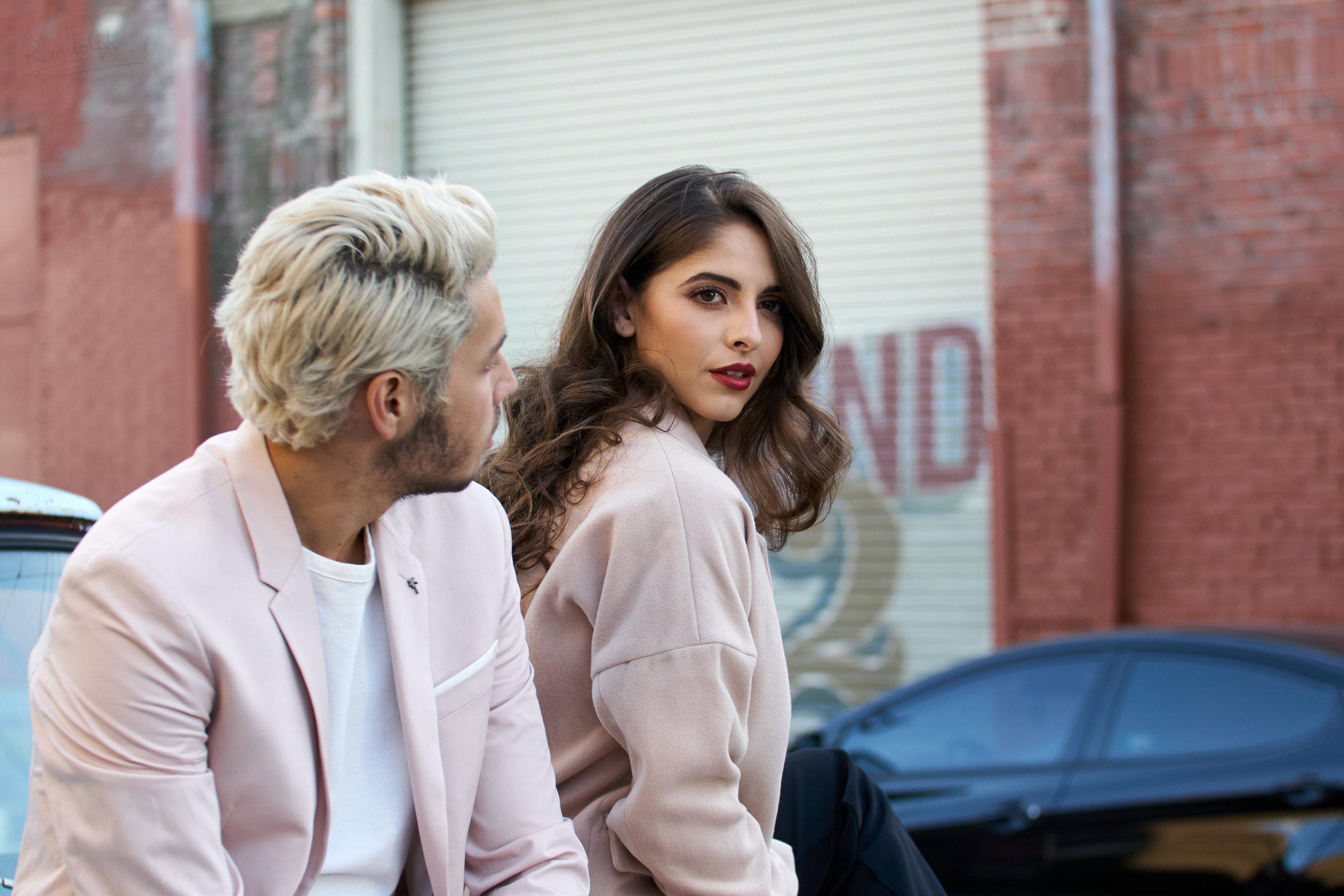 Mayra Lobba  and  Alejandro Silva  by  Randolph Wu