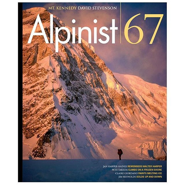 Hey folks, if you're interested in the deepest dive into the history of Mount Kennedy, peep the latest issue of @alpinistmag. It's the most thorough background ever created on the mountain and includes background on Bradford Washburn's early work with @natgeo. #mtkennedyfilm #mtkennedy #alpinist #mountaineering