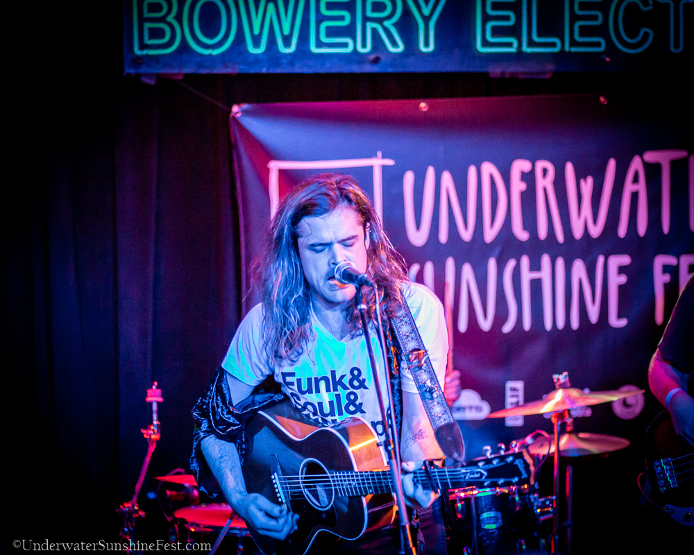 Sean Barna, Underwater Sunshine Fest, 10/2018 | Photo Credit: Dan Vasta  ©2018, Underwater Sunshine Festival, All Rights Reserved.