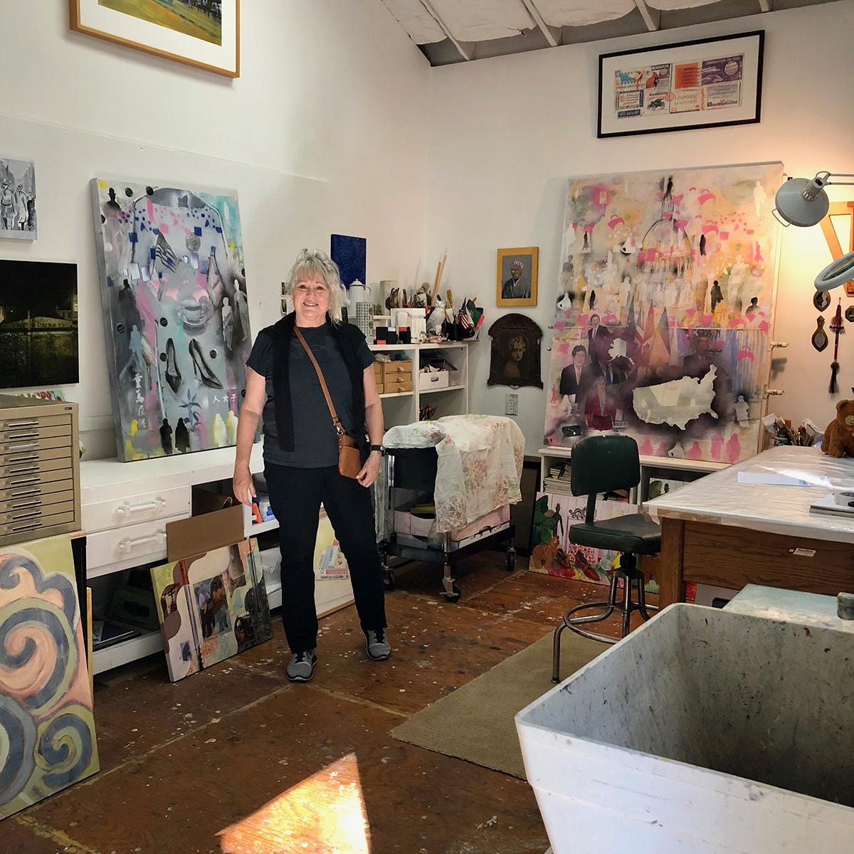 Mo Ni Kai Art Studio - Monica Bryant's open studio for Sonoma County Art Trails October 13, 2018
