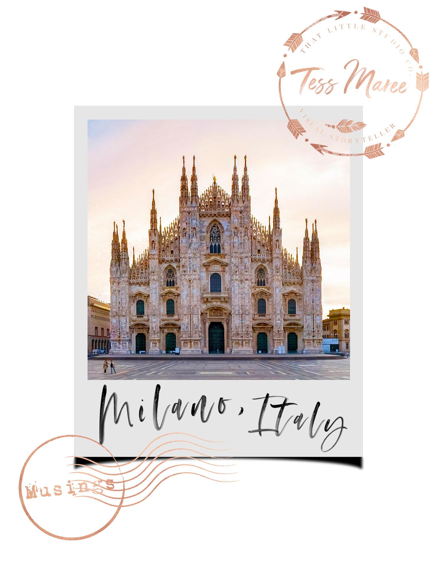 Tess-Maree-Musing-The-Duomo-Milano-Italy-Polaroid