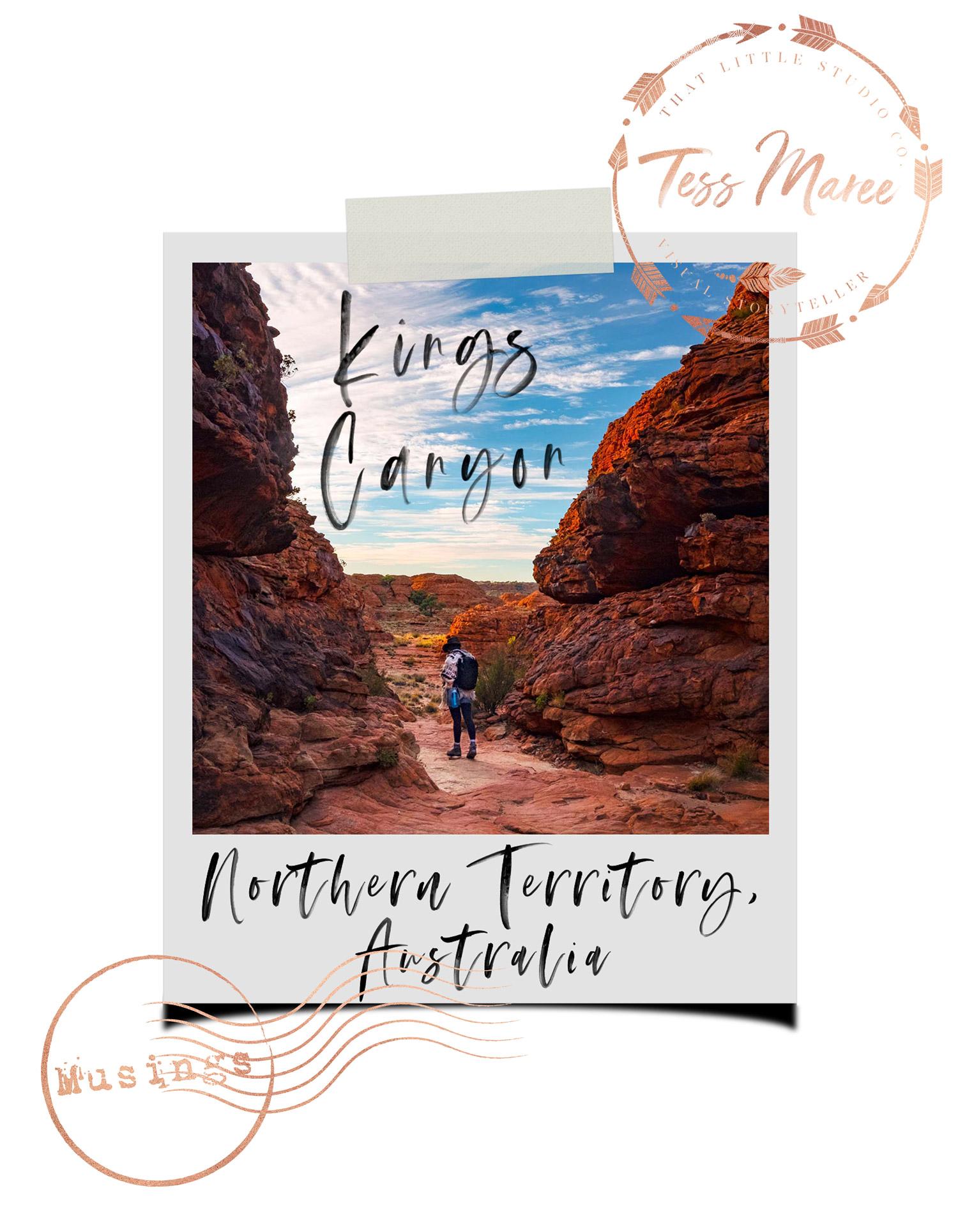 Tess-Maree-Musing-Kings-Canyon-Northern-Territory-Australia-Polaroid