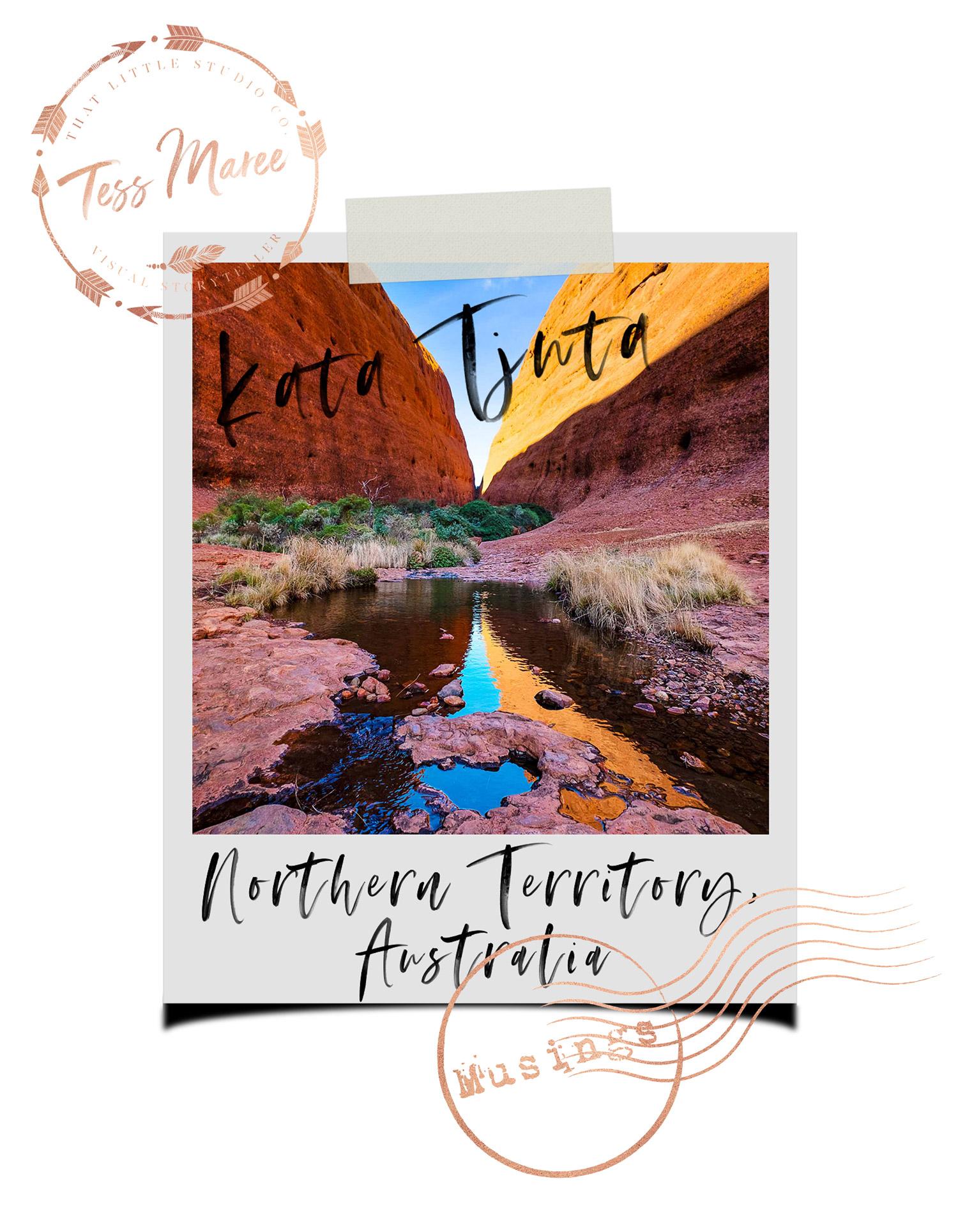 Tess-Maree-Musing-Kata-Tjuta-Northern-Territory-Australia-Polaroid