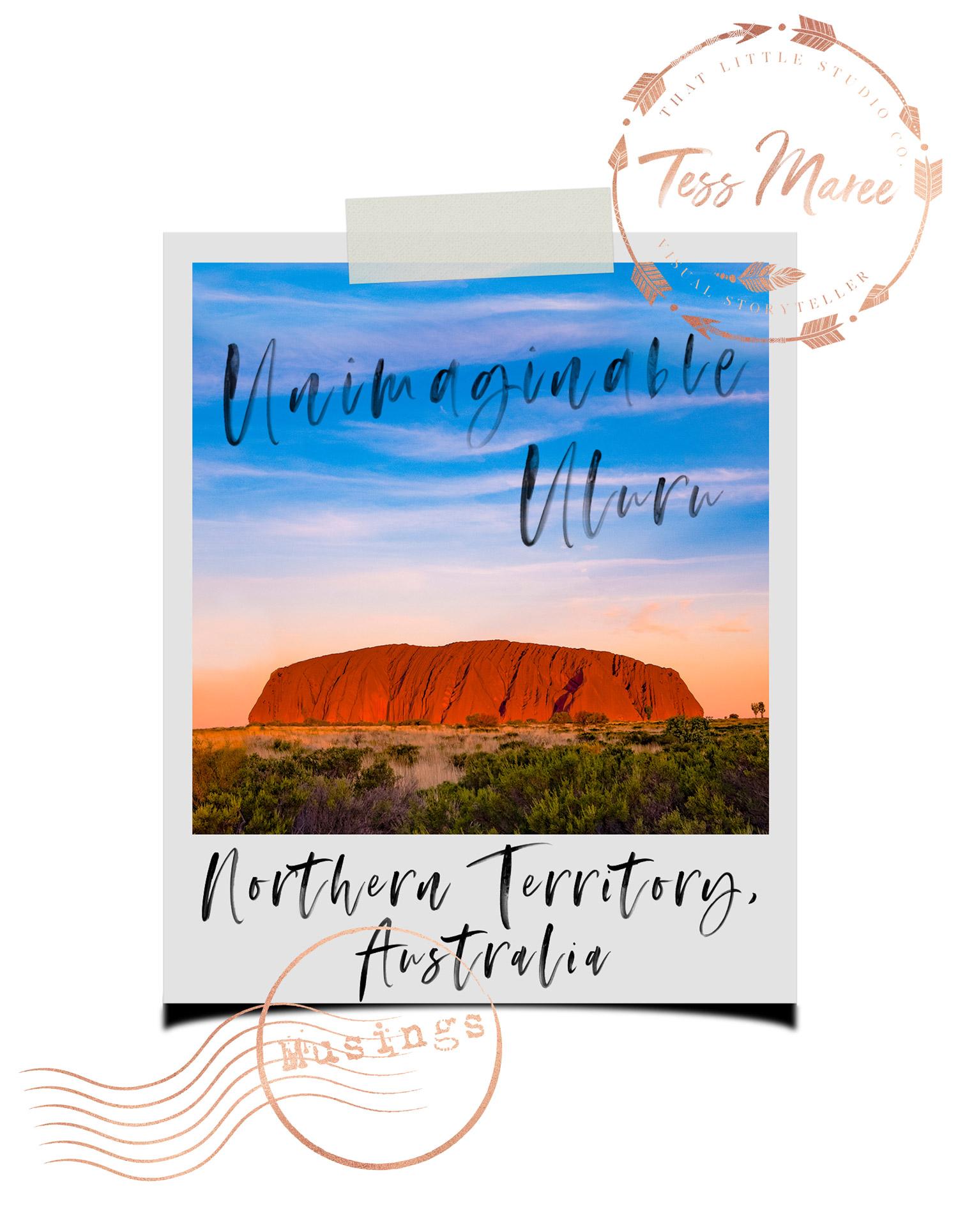 Tess-Maree-Musing-Uluru-Northern-Territory-Australia-Polaroid
