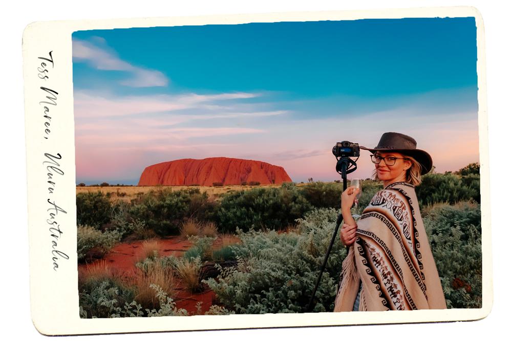 Tess Maree Uluru Australia