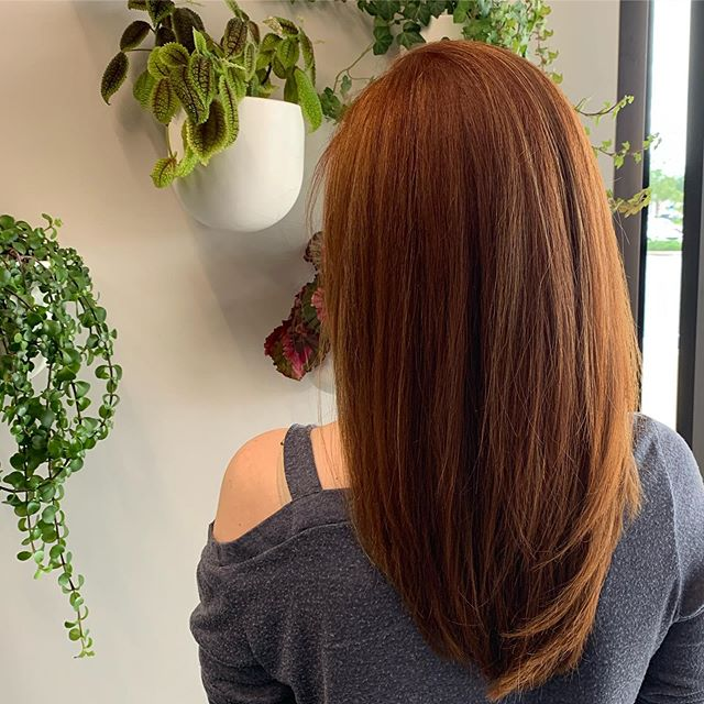 Red Hair 👩🦰 #lakemaryhairstylist #winterparkhair #goldwellcolor #lakemaryflorida #heathrowfl #heathrowhairstylist #orlandohairstylist #redhair #redhaircolor #orlandohairstylist