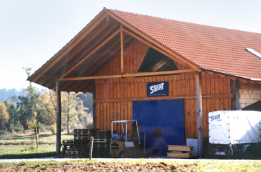 Sonett production and warehouse, Freiheithof 1993