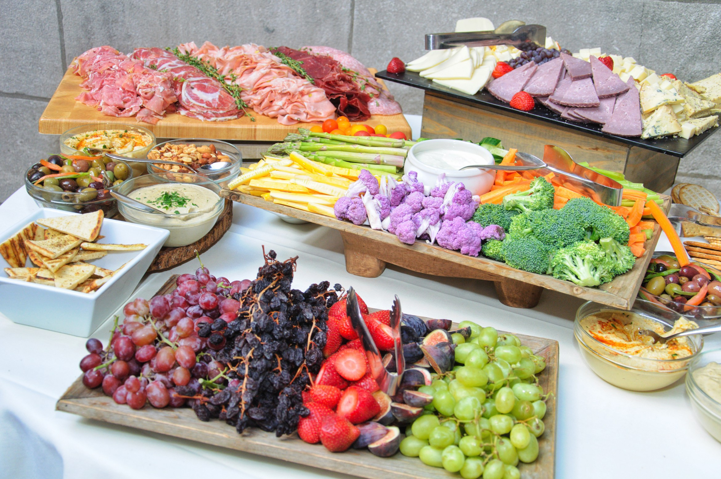 Delectable spread by  Inside the Park