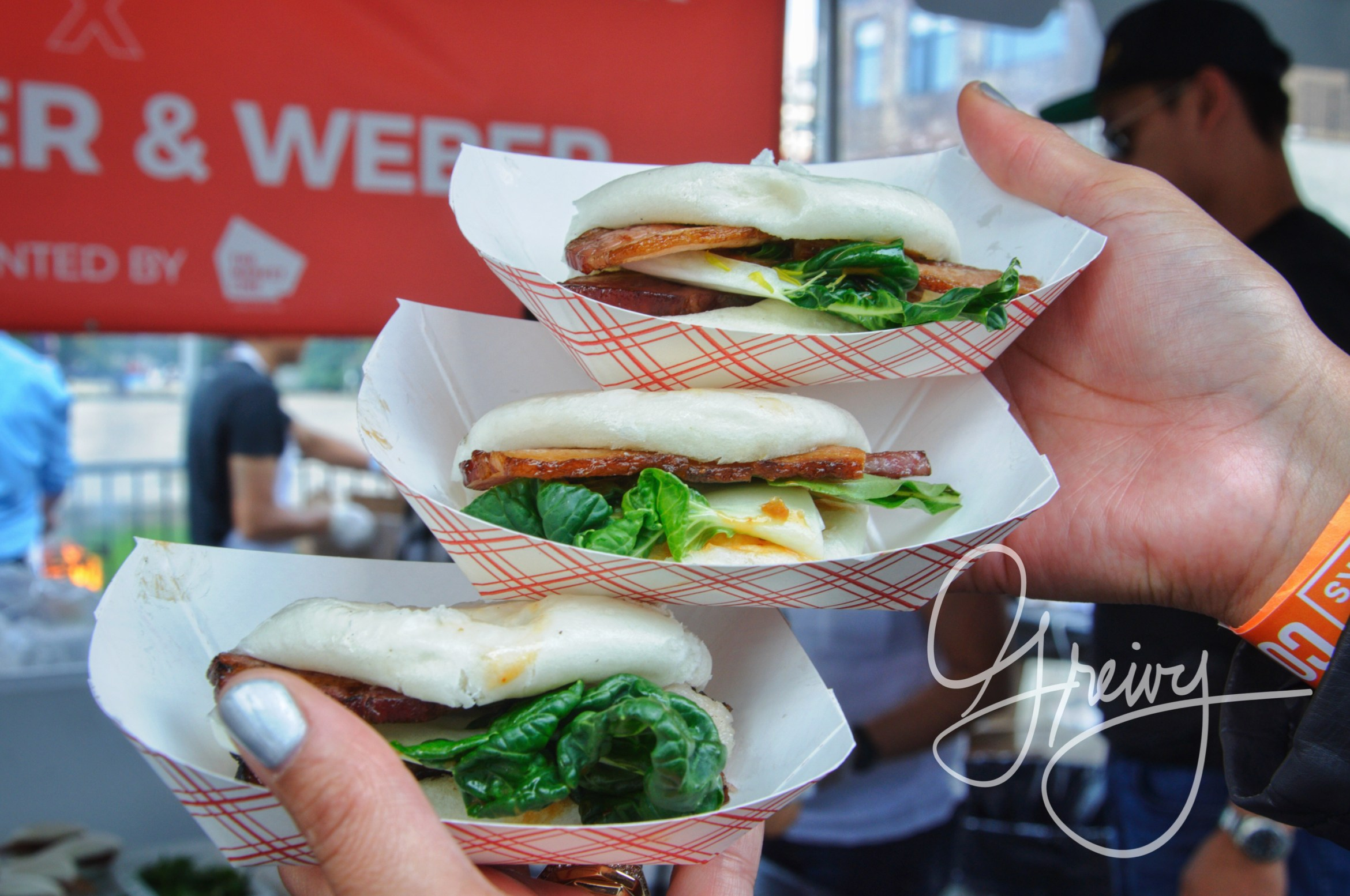 "The Market Line presents: Nom Wah Tea Parlor X Schaller & Weber ""Double Smoked Bacon Bao"""
