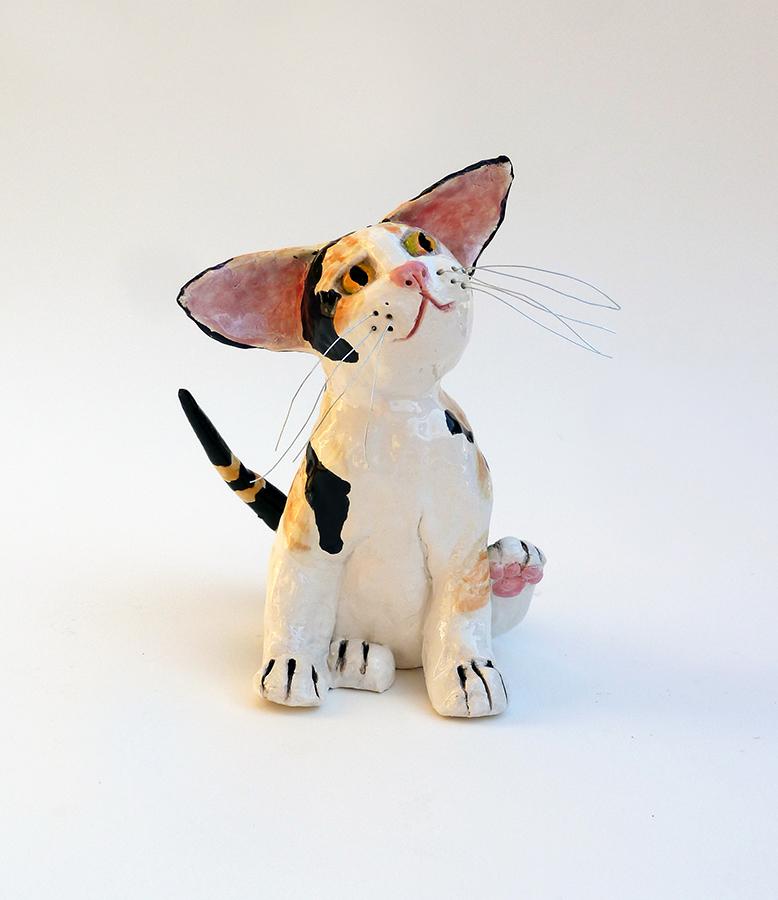"""Cat Scratch, 6""""x4""""x5"""""""