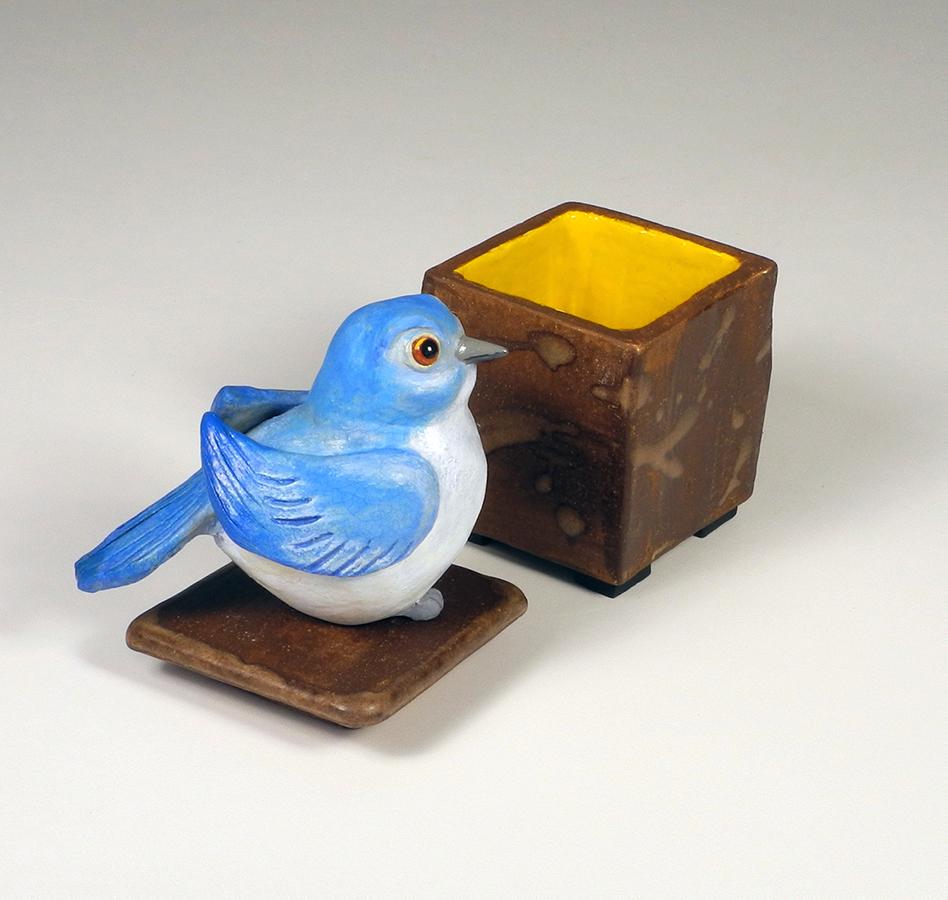 """Bluebird (box), 9""""x5""""x4"""""""