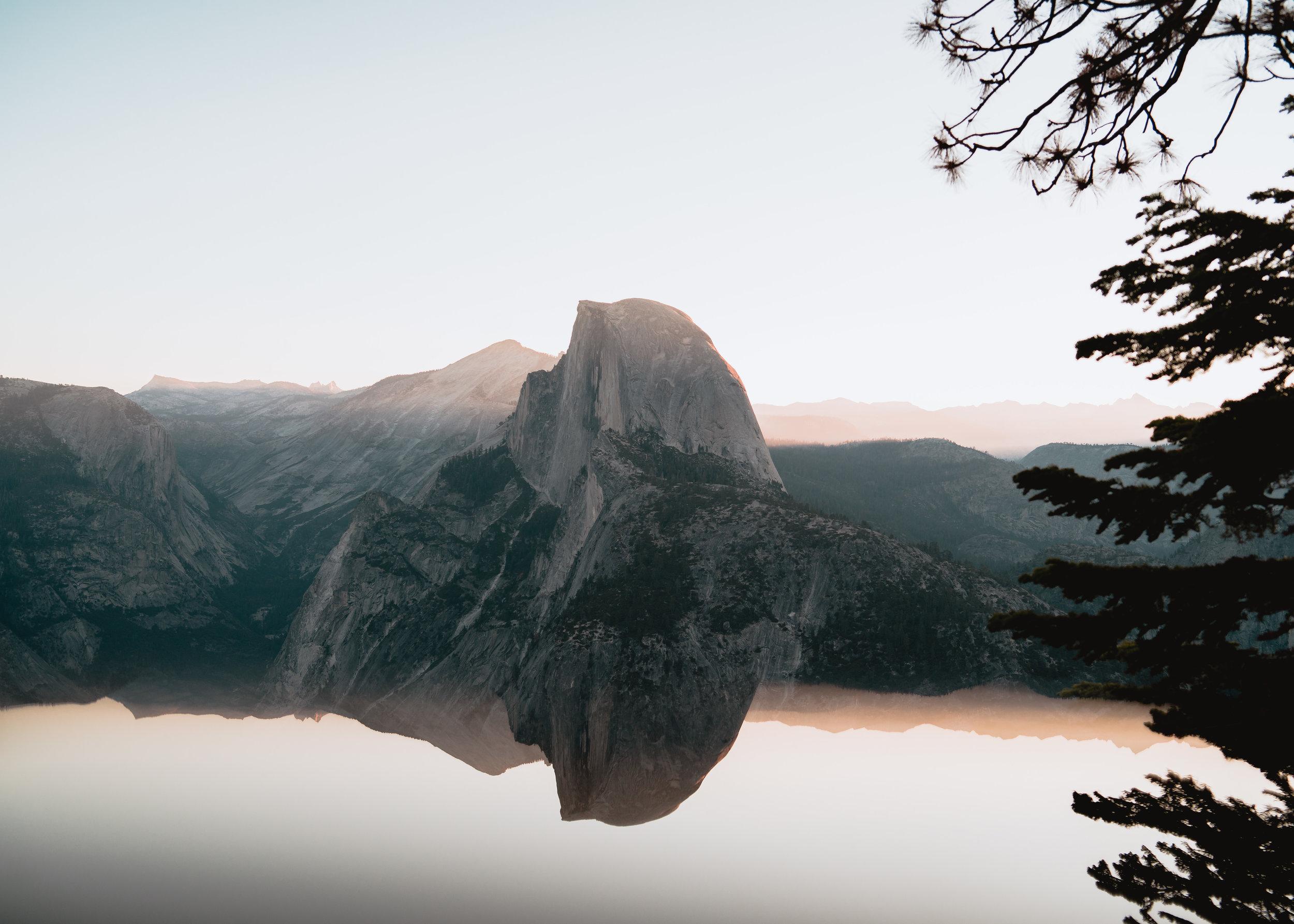 Half Dome Mirrored