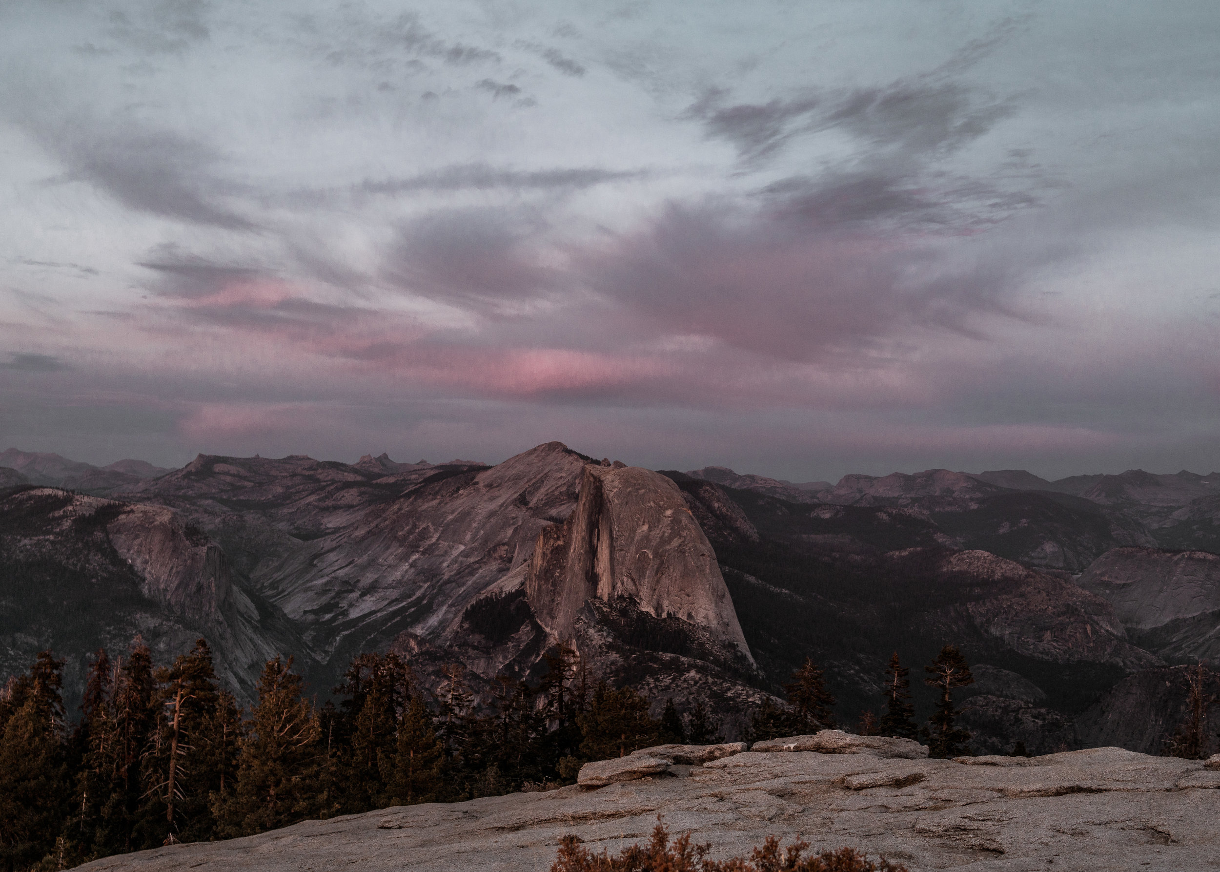 Midnight Half Dome