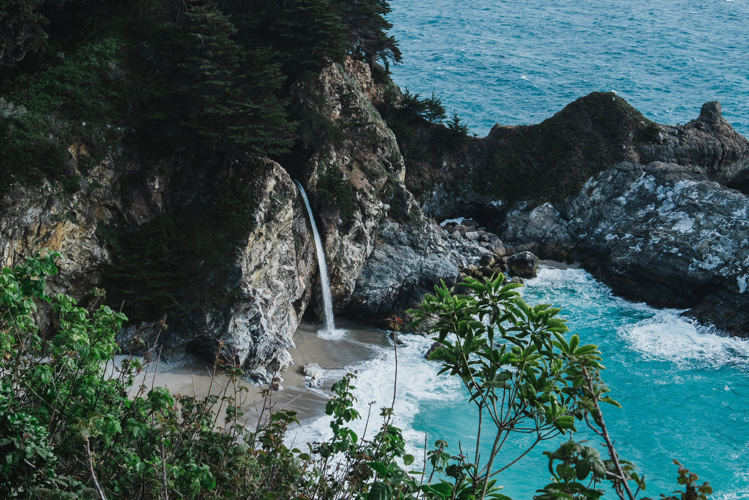 Waterfall to Nowhere