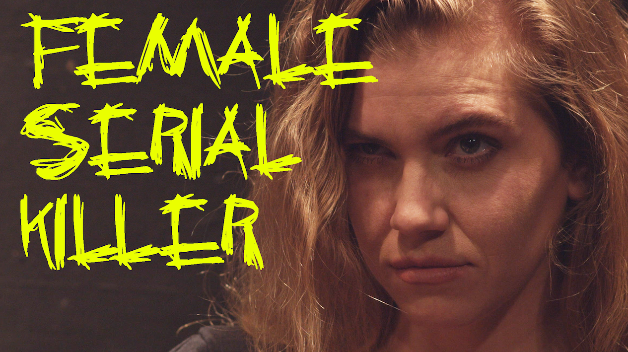 """""""Female Serial Killer"""" (5 min) - I directed this Headcase Production short written by Lauren Gilbert about a women's panel disrupted by a serial killer who demands the same respect for her accomplishments. It stars Shannon Dee, Maddie Patrick, Johanna Middleton, and Nancy Ma. Check it out HERE!"""