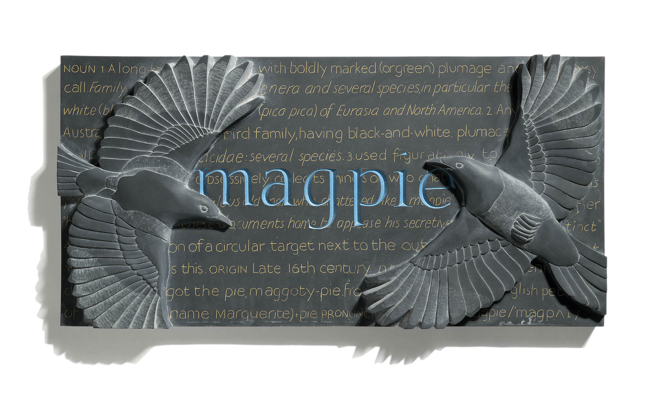 MAGPIE  - by Louise Tiplady