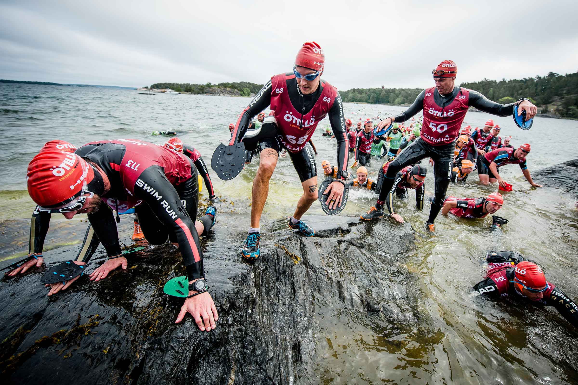 Bild från en av uppstigningsplatserna under Ö till Ö. Under denna hårda tävling såg sig SEAL Team 5 sig slagna av svenska kustjägare. Foto: ÖtillÖ