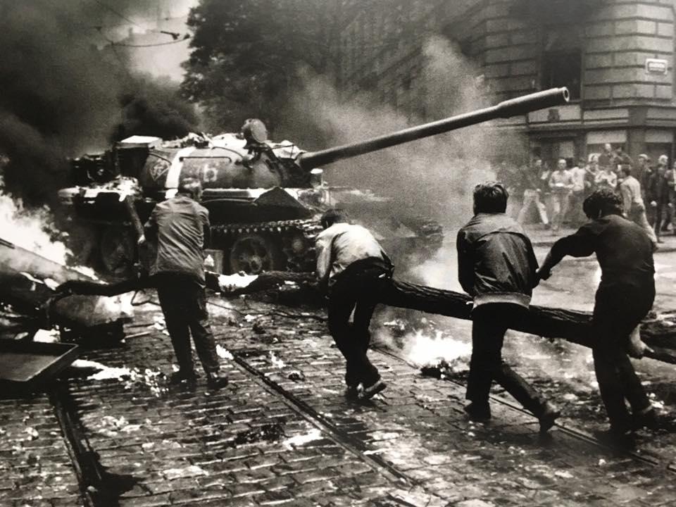 VDV var avgörande i Warsawapaktens invasion av Tjeckoslovakien 1968. Foto:
