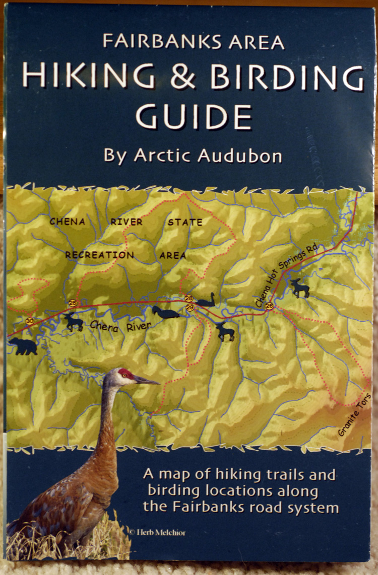A go-to for birding in Fairbanks! - This map was first published in 2007. It is available as a beautiful, waterproof print map at the Creamer's Field Farmhouse Visitor Center or by emailing us at: arcticaudubon@gmail.com.