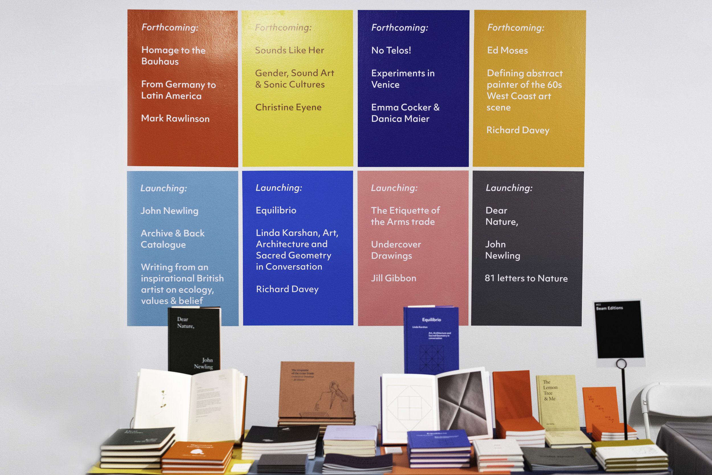 Beam Editions at the LA Art Book Fair