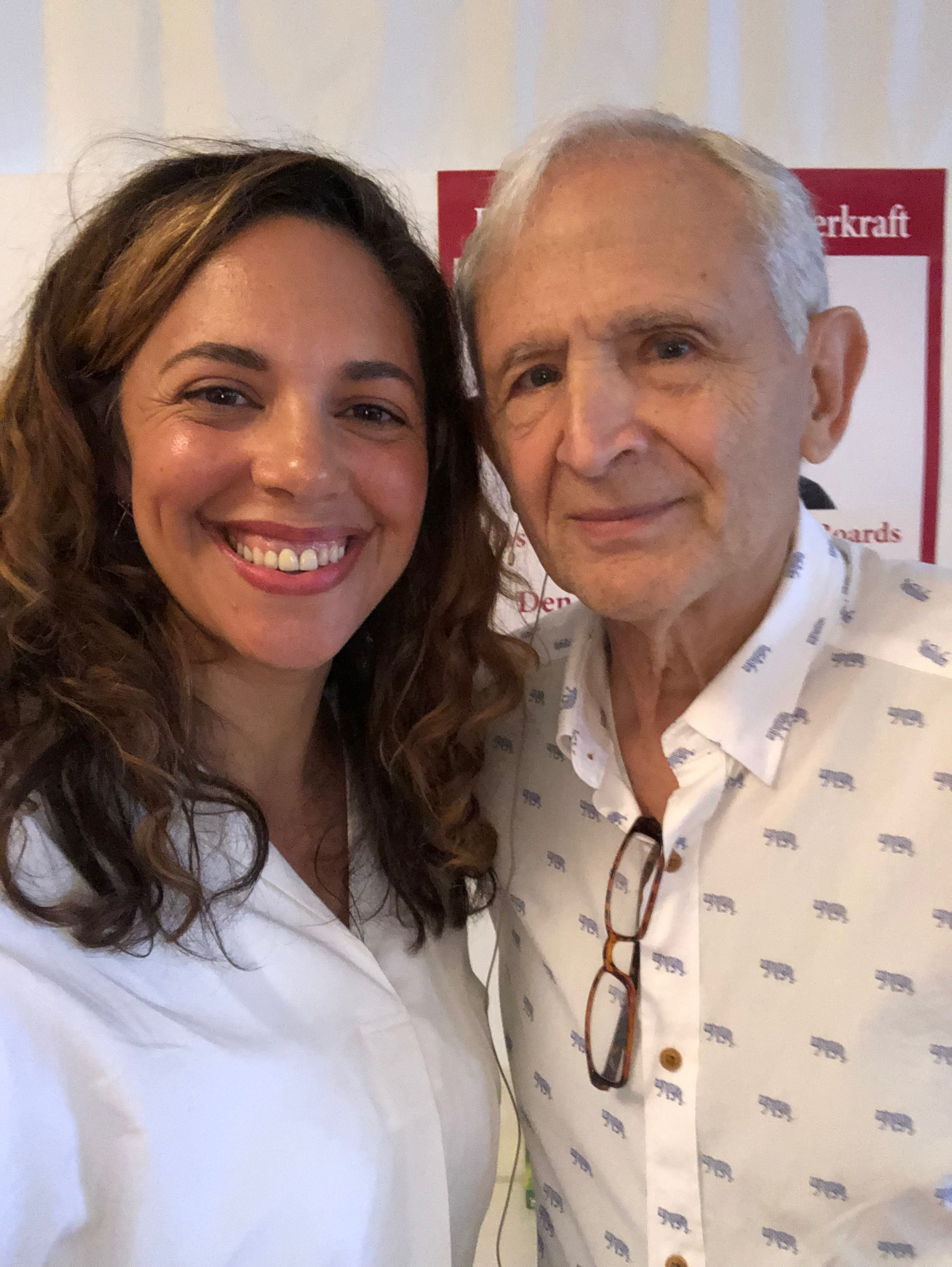 Me with Dr. Peter Levine, 2019 Masterclass