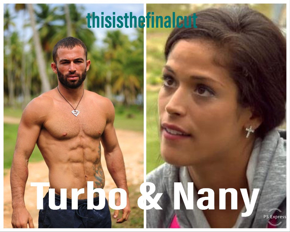 Uh hem. (So far) I have been wrong about Nany. I'm waiting for her to come crashing down to Earth —I still can't believe she is anywhere but a bottom 3 girl. That said, she's looked good now two weeks in a row. And Turbo? lol.