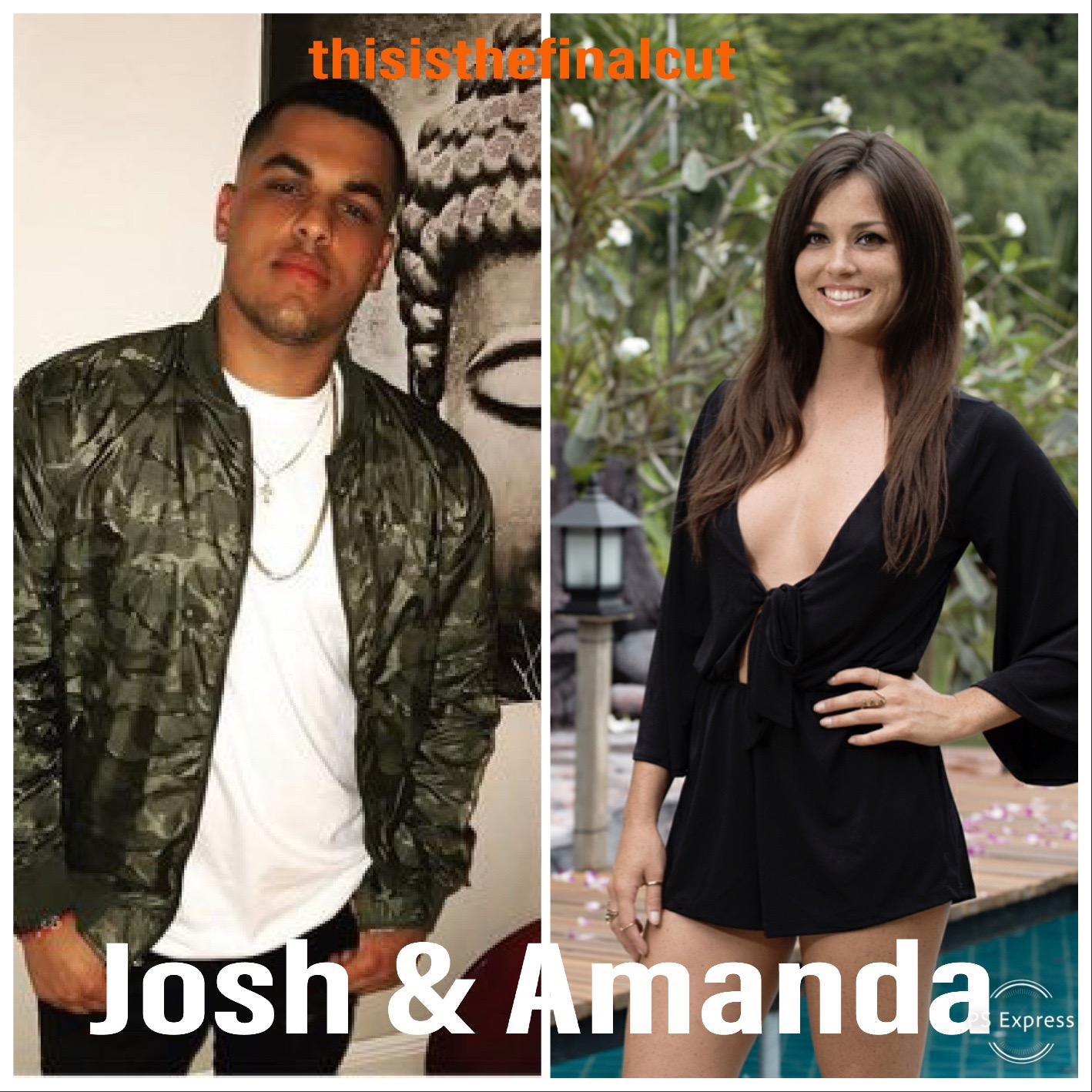 Oh Amanda. I root for her to put her money where her mouth is. I think she's been doomed with her partner —although Josh has not been that bad. Part of me thinks teams are afraid to call them into an elim because the men don't want to lose to Josh, and the women can't lose to Amanda. That fear might take them to the final.