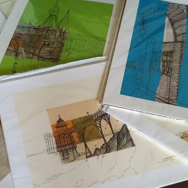 There'll be unframed prints for sale too at my exhibition in Bristol Folk House from Fri 6 April