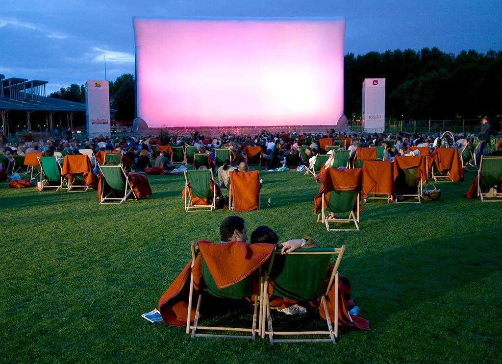 Cinéma en plein air la Vilette