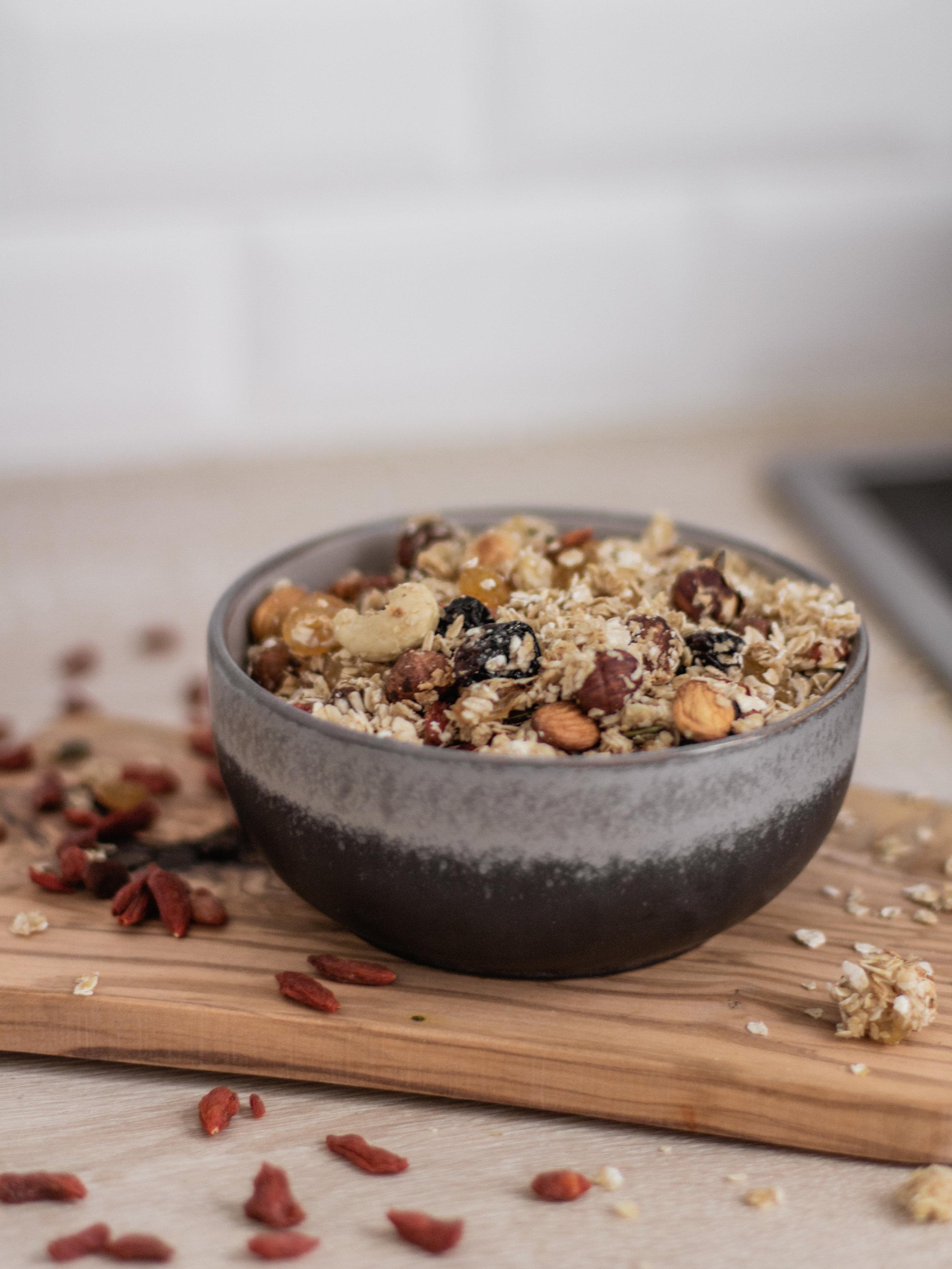 recette granola vegan