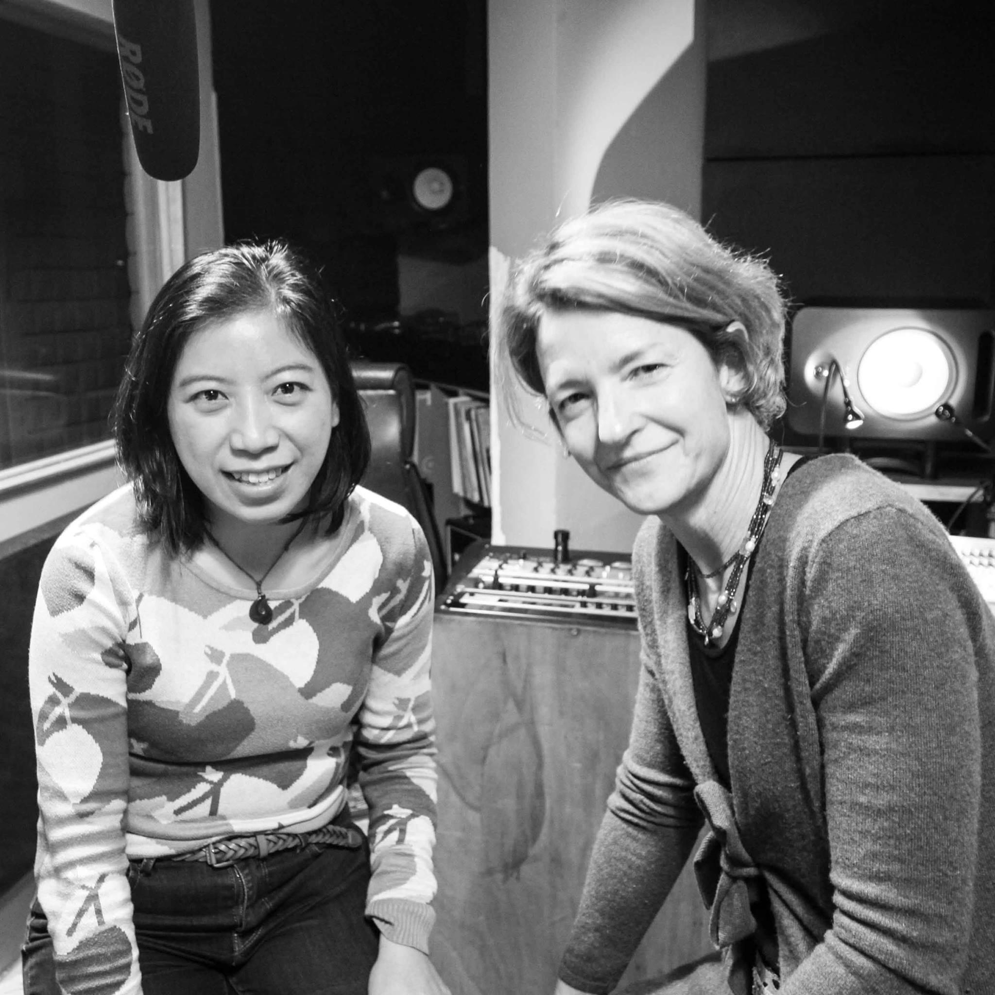Wu Kaming in the studio