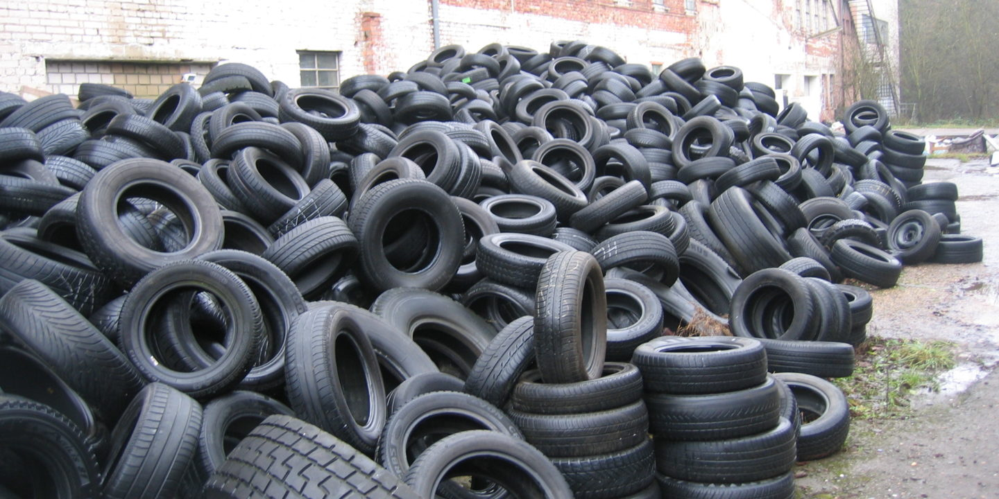 Tyres are subject to extended producer responsibility in many industrialised countries. (Image: TUBS)