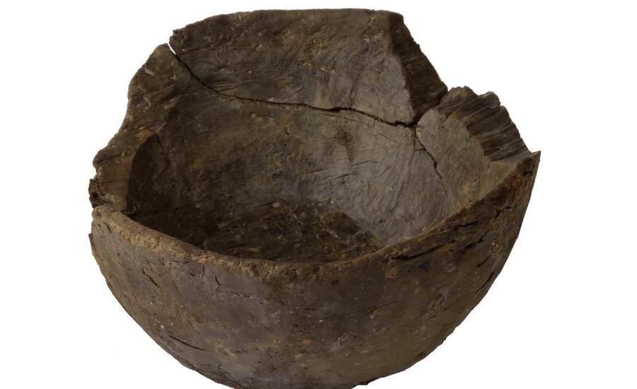 Rare bowl, Northstowe archaeology
