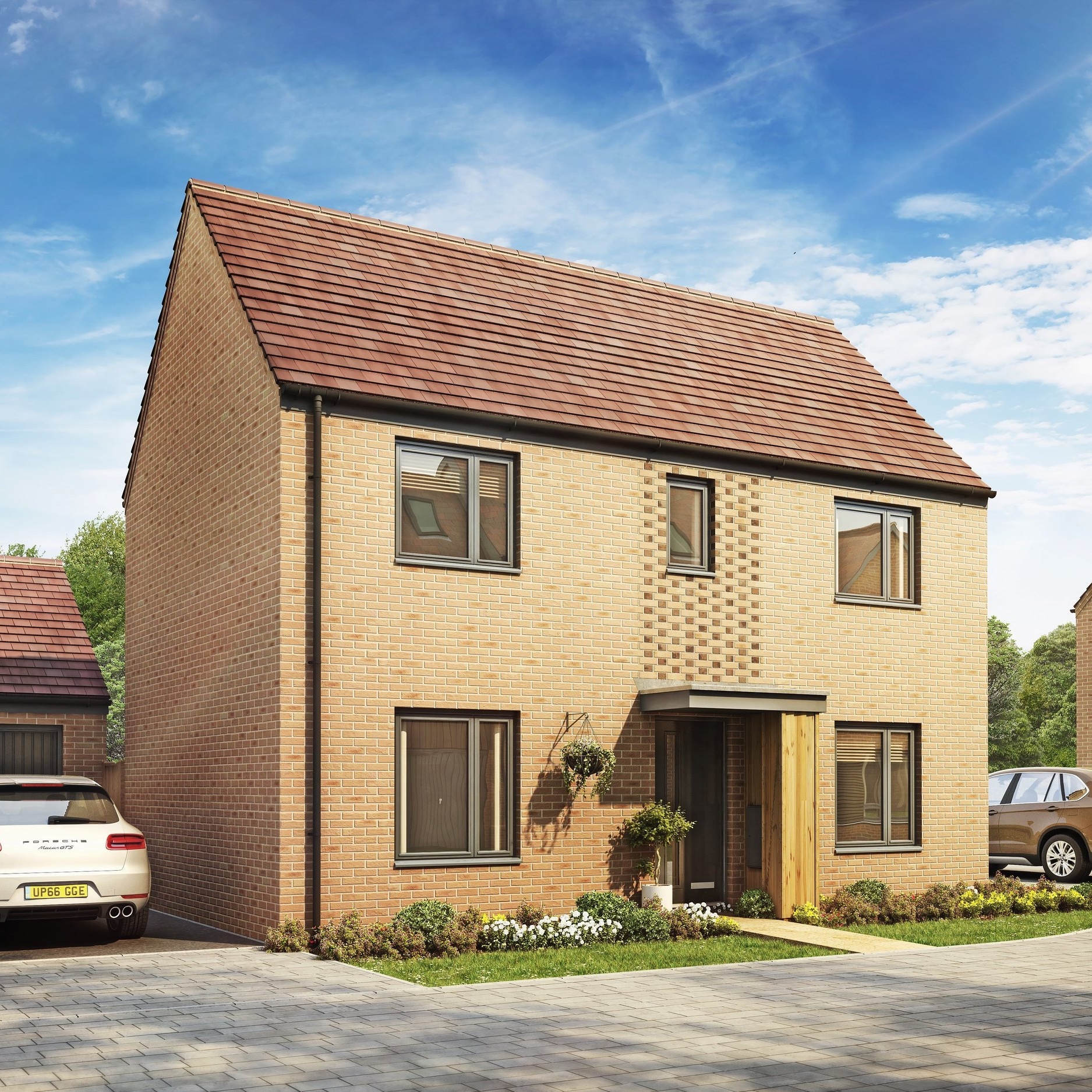 TAYLORWIMPEY - 2 bedroom apartments and3, 4 & 5 bedroom homes from£234,995 to £529,995