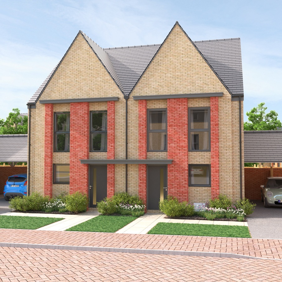 BPHA - 2 & 3 bedroom houses and 2 bedroom apartments starting from £57,500 for a 25% share in a 2 bed apartment.