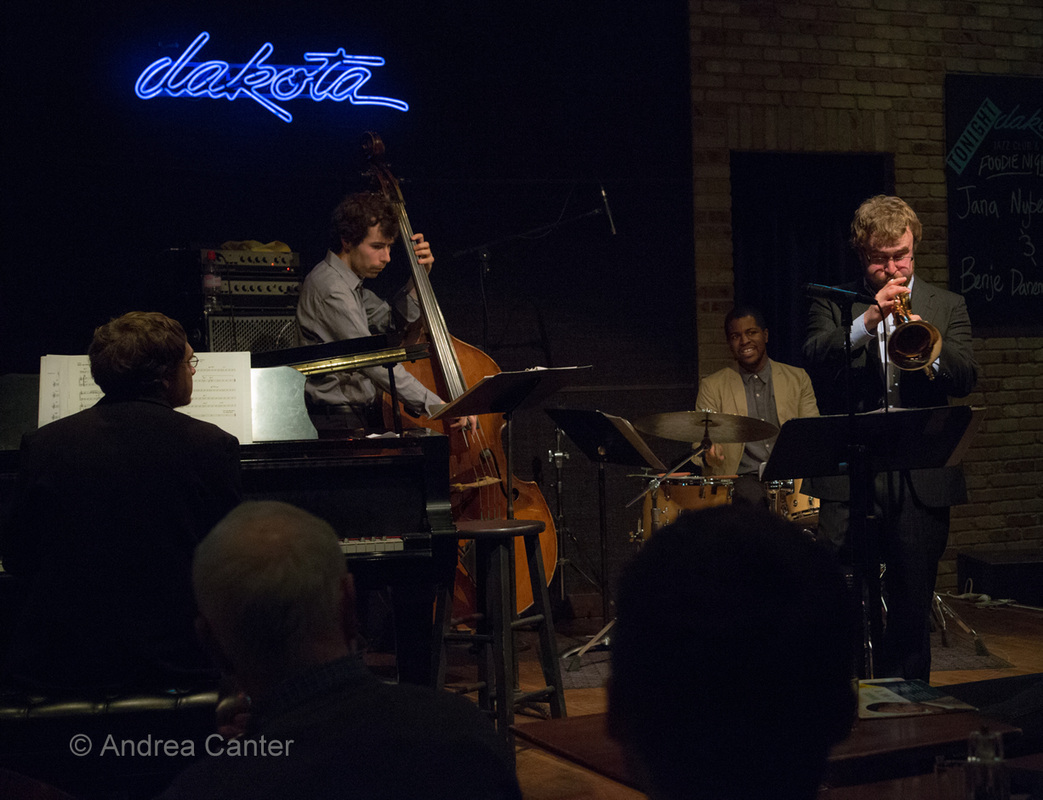 Benje Daneman Group at Dakota Jazz Club (Minneapolis, MN), 2014 (Photo: Andrea Canter)