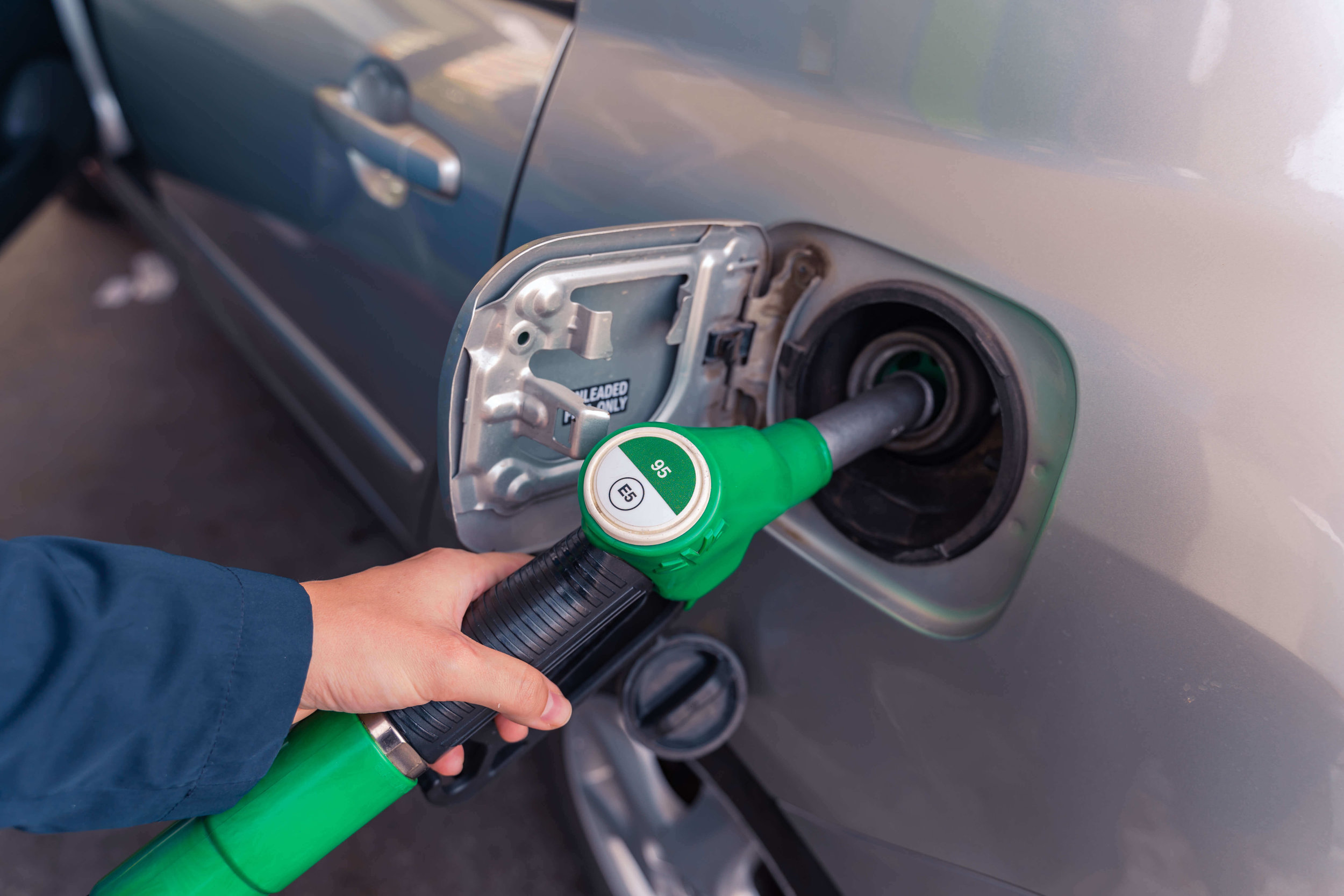 E10 petrol pump