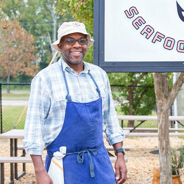 Ricky Moore,  Saltbox Seafood Joint