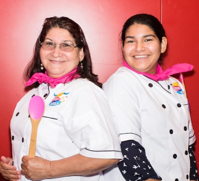 Cecilia and Nora Polanco,  So Good Pupusas