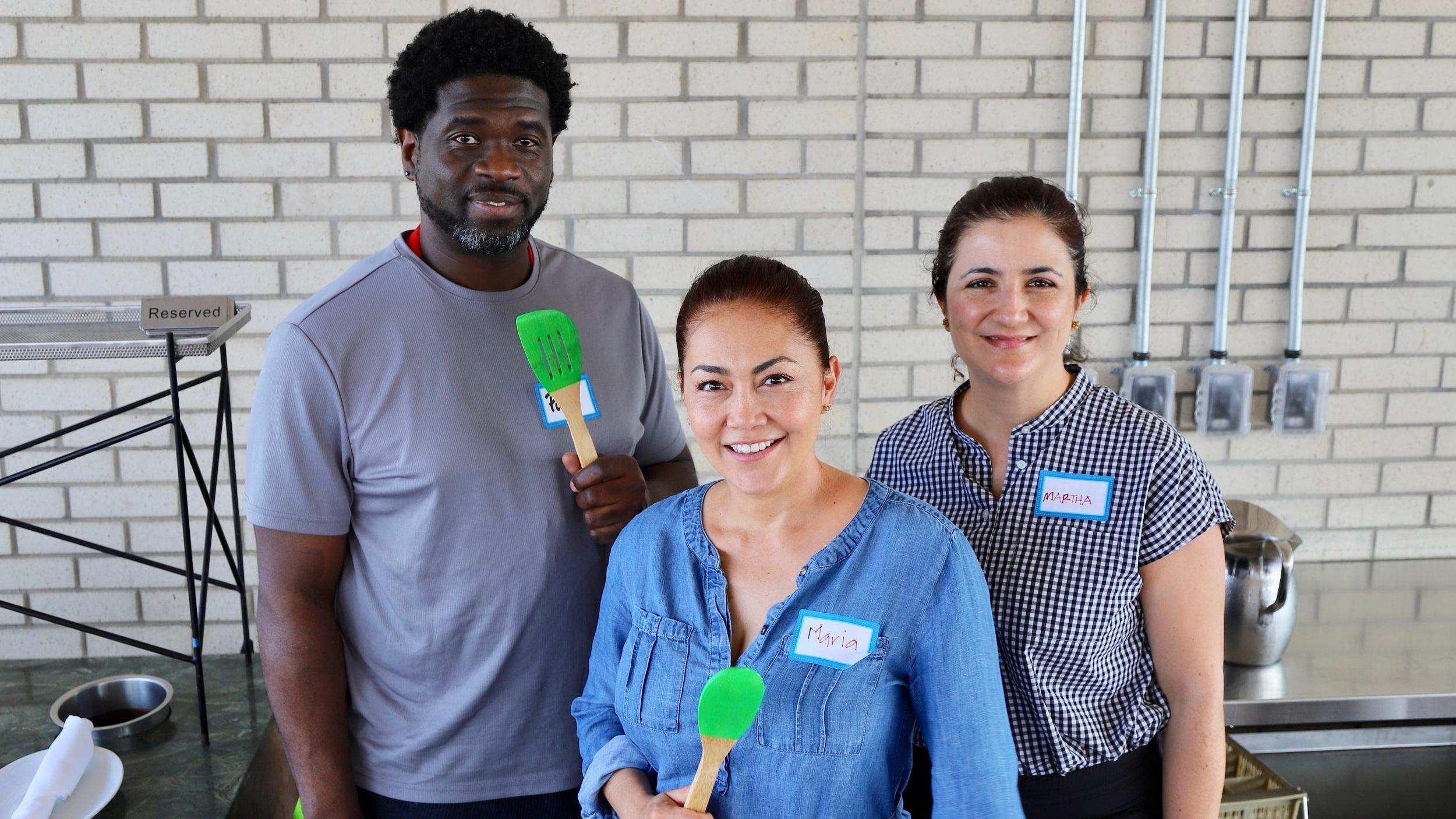Paul Johnson, Hillside High School  Maria Pacheco & Martha Arango,  Cilantro Artisan Foods