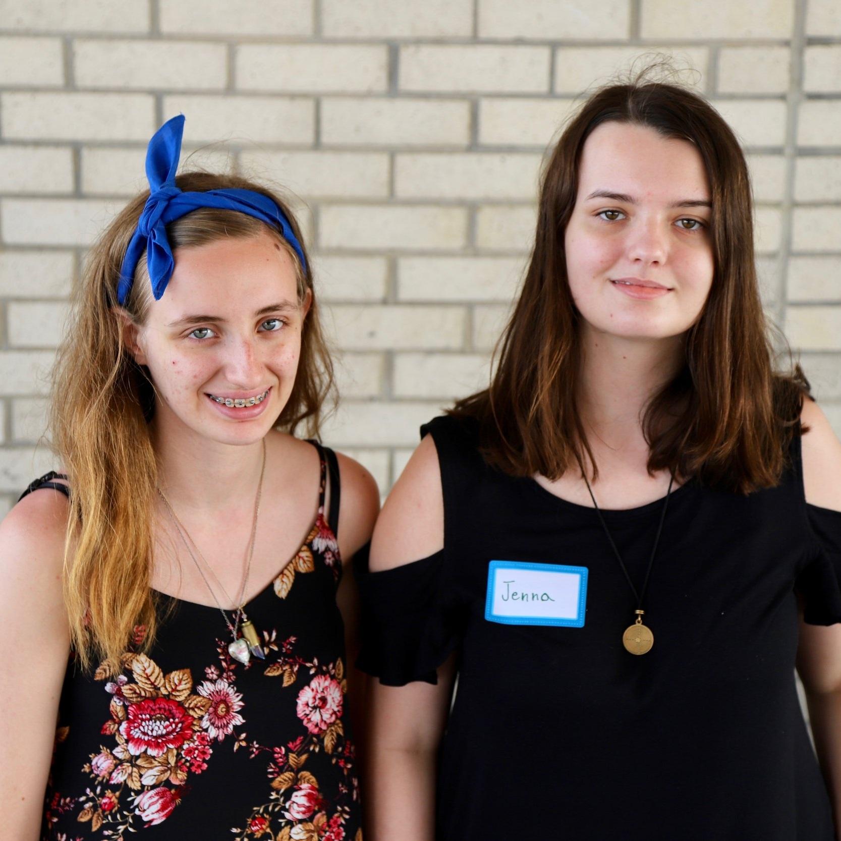 Sydney Webb & Jenna Carder, Northern High School Culinary Program