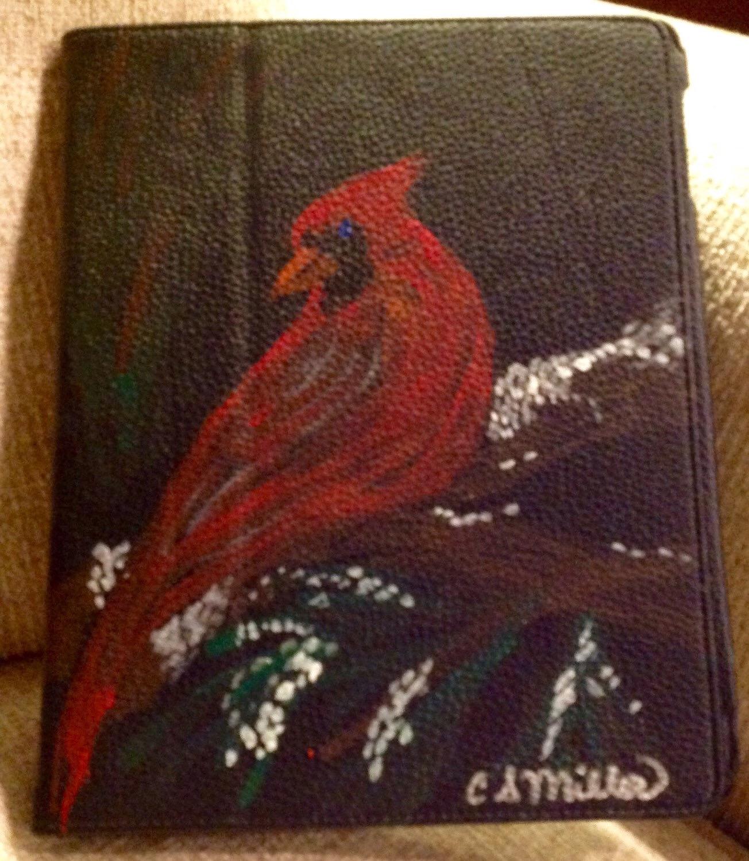 Cardinal on iPad Cover.JPG