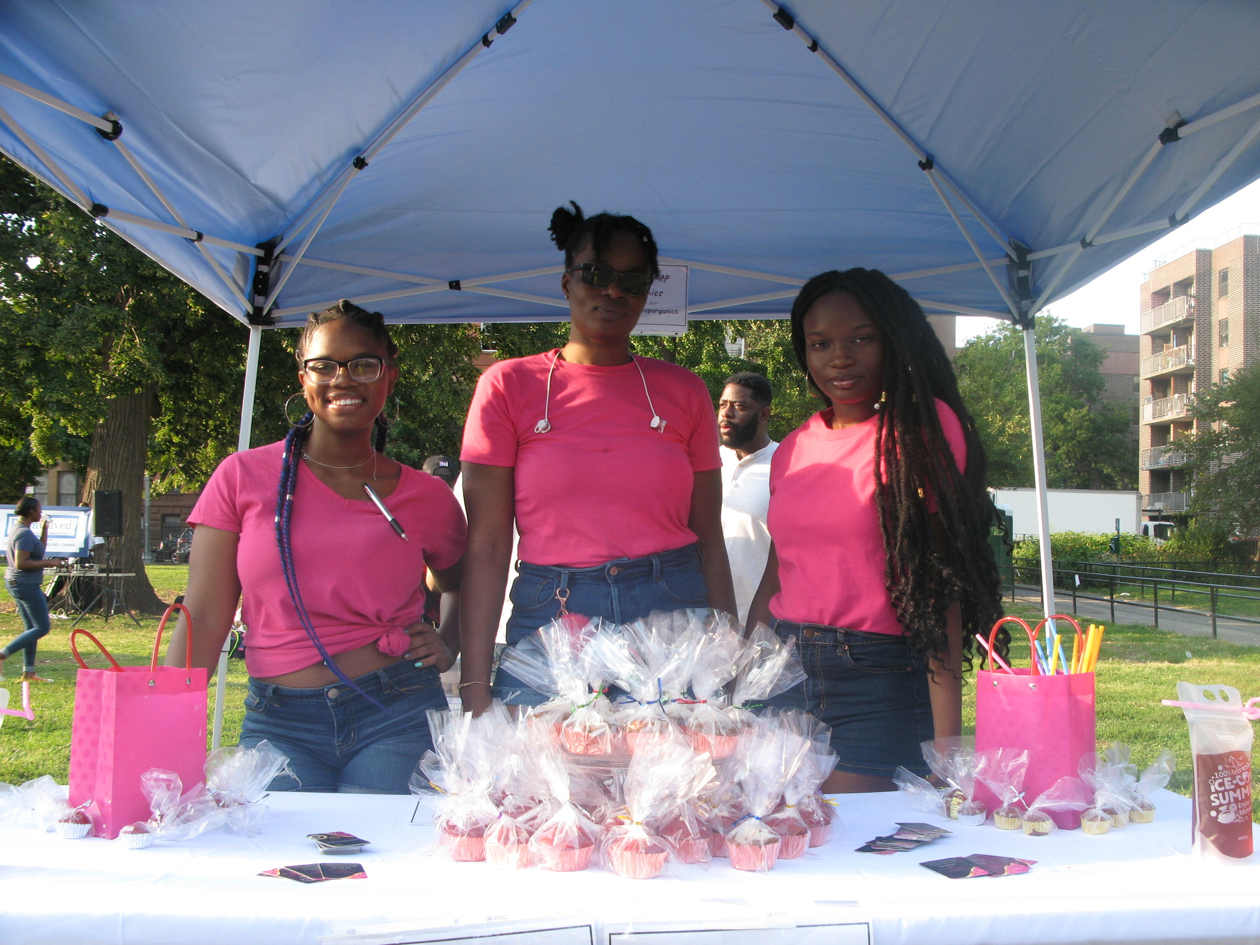 Some of our Young Entrepreneurs…