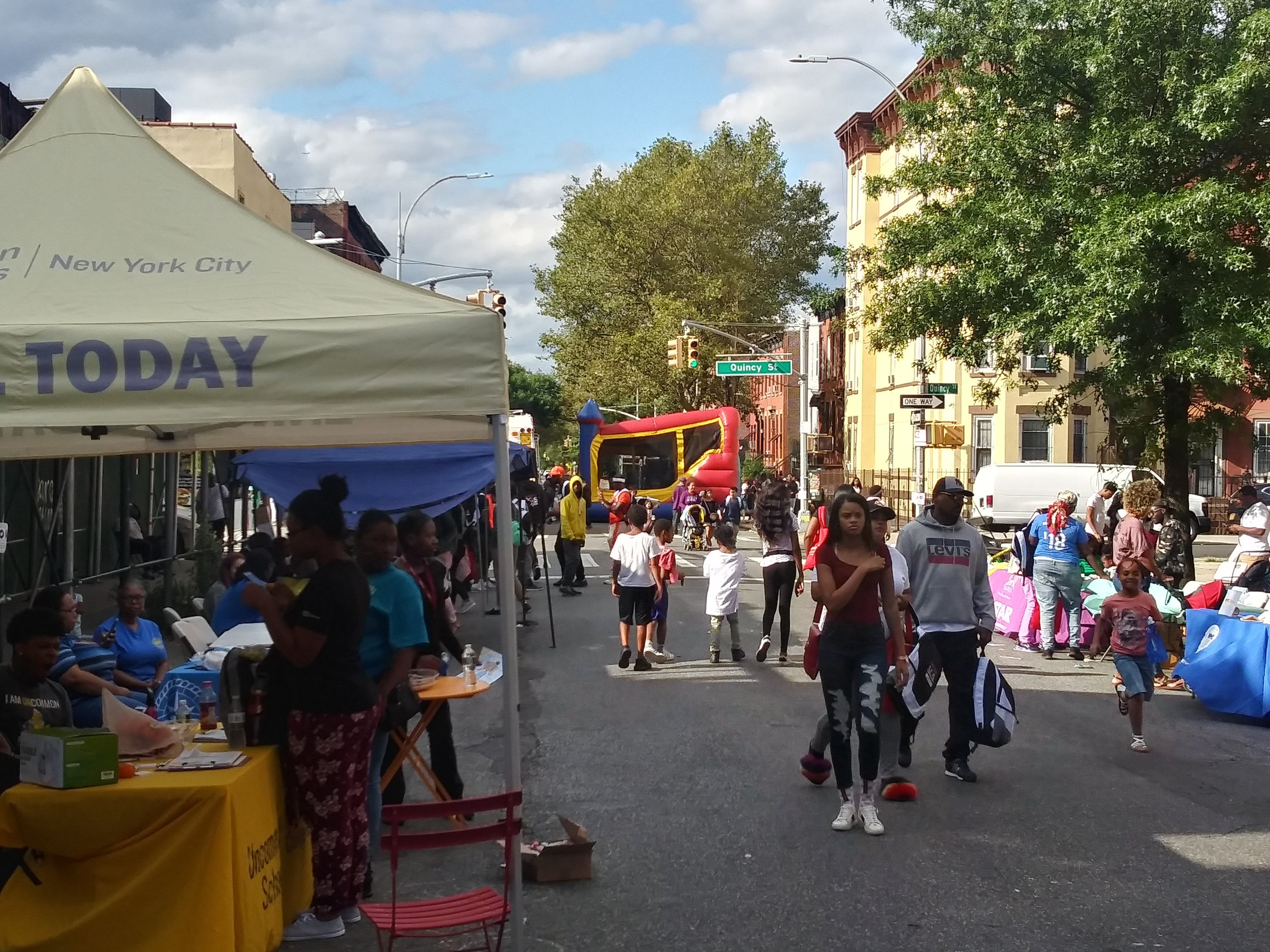 Thanks to all Community Partner who came out in support of community and youth at Save Our Streets 2019 Back To School Block Party.
