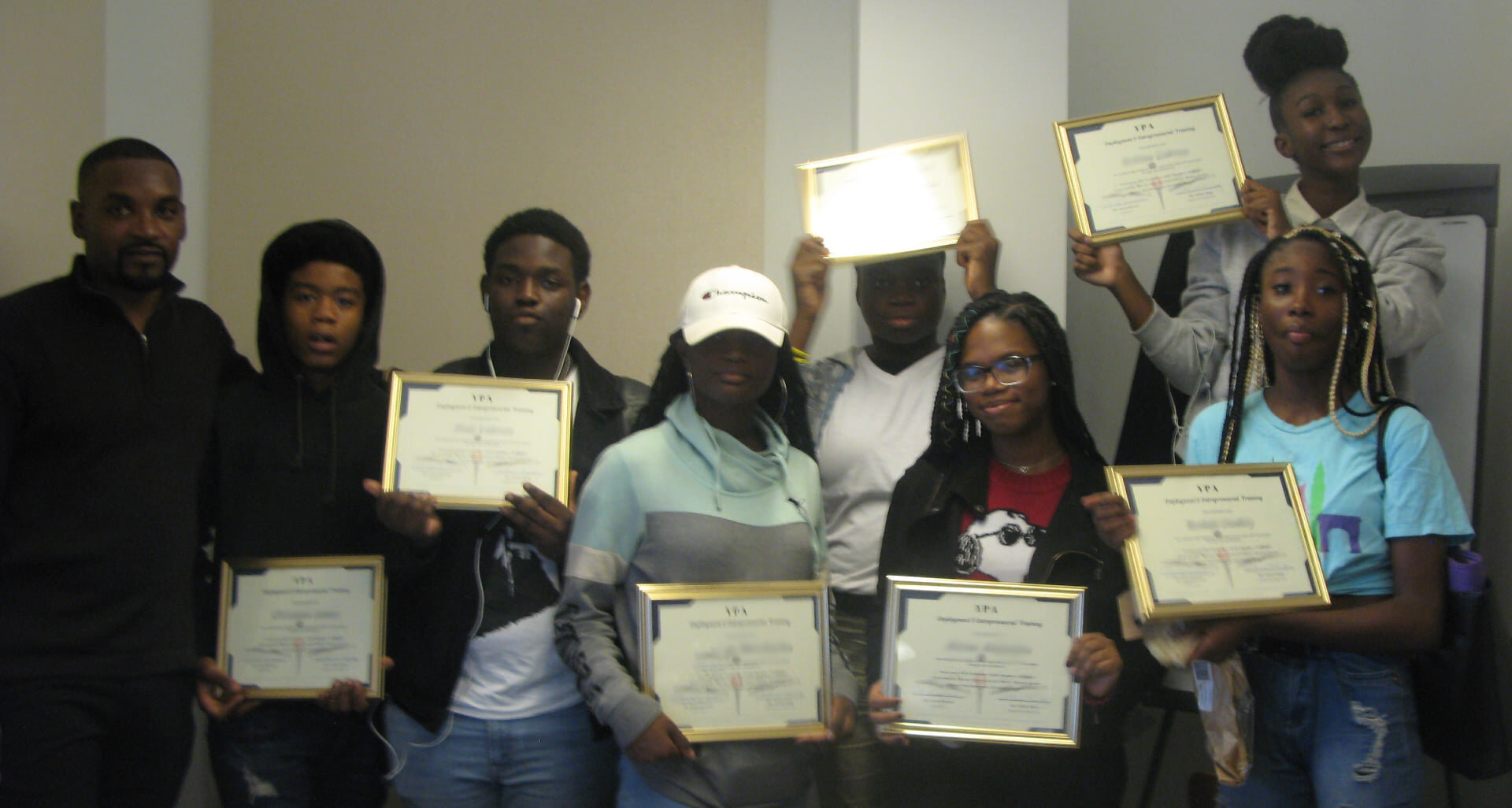 Congratulations to our EET Graduates!!! Such a rewarding experience working with our Young Entrepreneurs Group over the last two months... Continue to apply yourselves with vigor and Greatness shall bow before you!