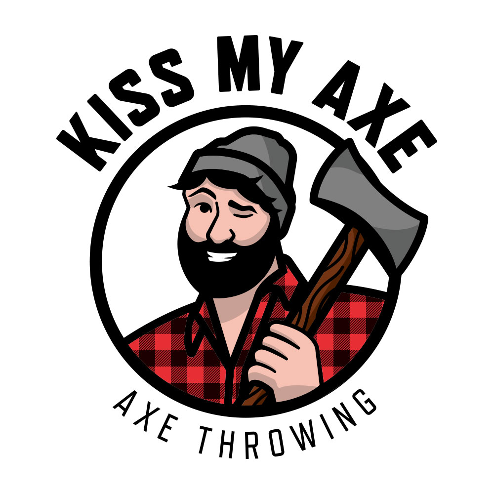 Kiss My Axe - Logo