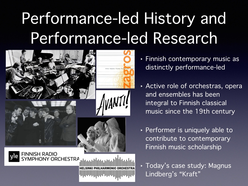 Performance-Led History and Performance-Led Research